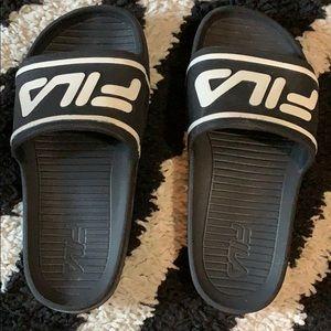 Fila Slides. Size 13 kids. EUC.